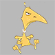Set of Cartoon Yellow Birds for your Design  - GraphicRiver Item for Sale