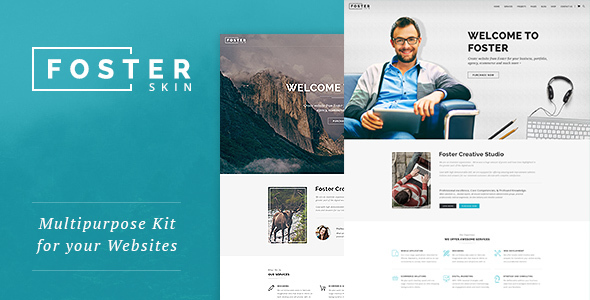 Foster – Responsive Multi-Purpose WordPress Theme