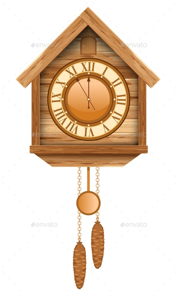 Cuckoo Clock - Man-made Objects Objects
