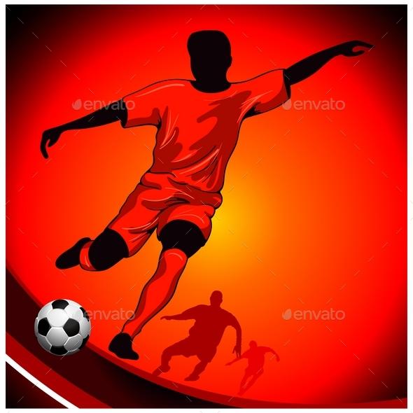 Football Poster  - Sports/Activity Conceptual