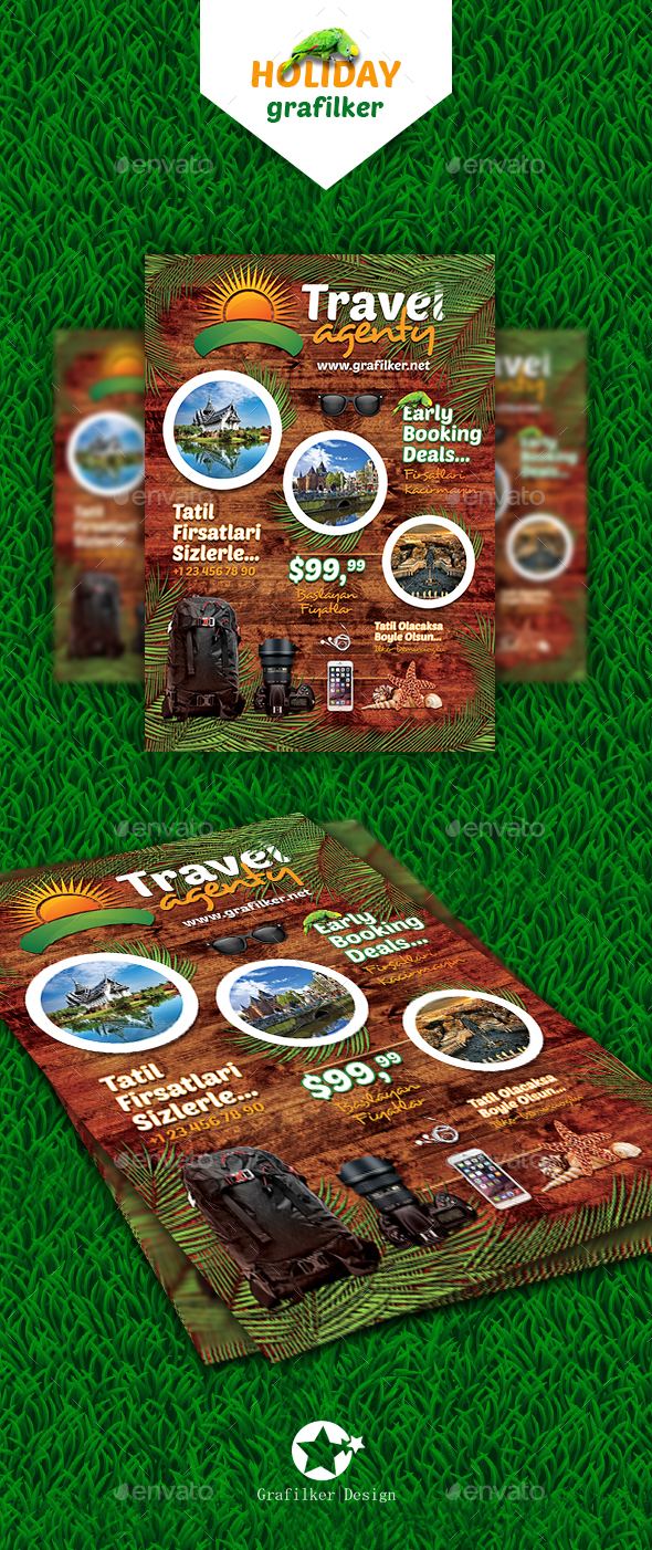 Travel Agenty Flyer Templates - Corporate Flyers