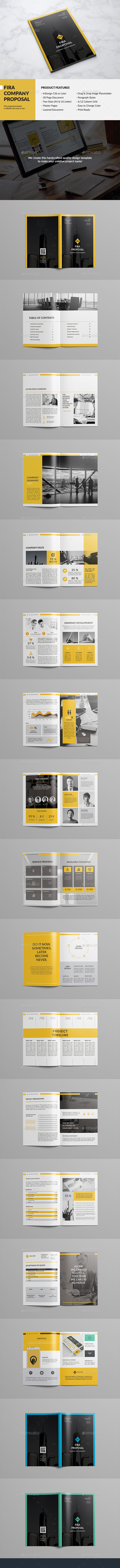 Fira Company Proposal - Corporate Brochures