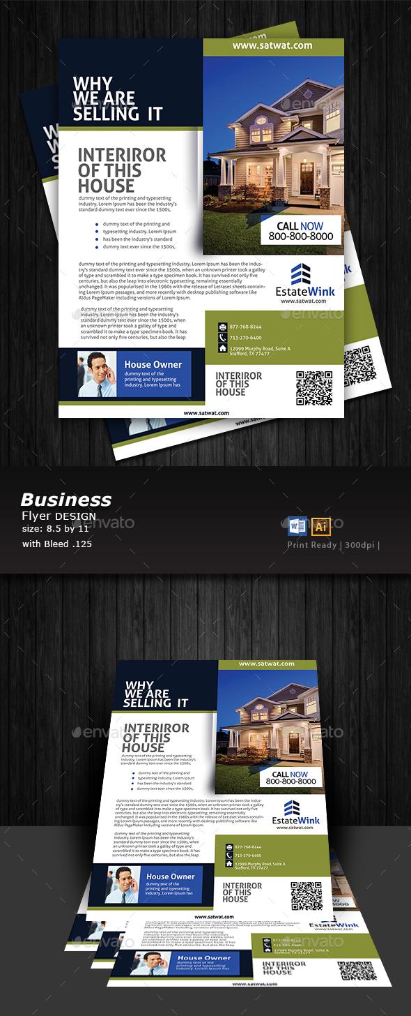 Real Estate Flyer Designer  - Flyers Print Templates