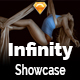 Infinity UI Kit - Showcase - Sketch Nulled