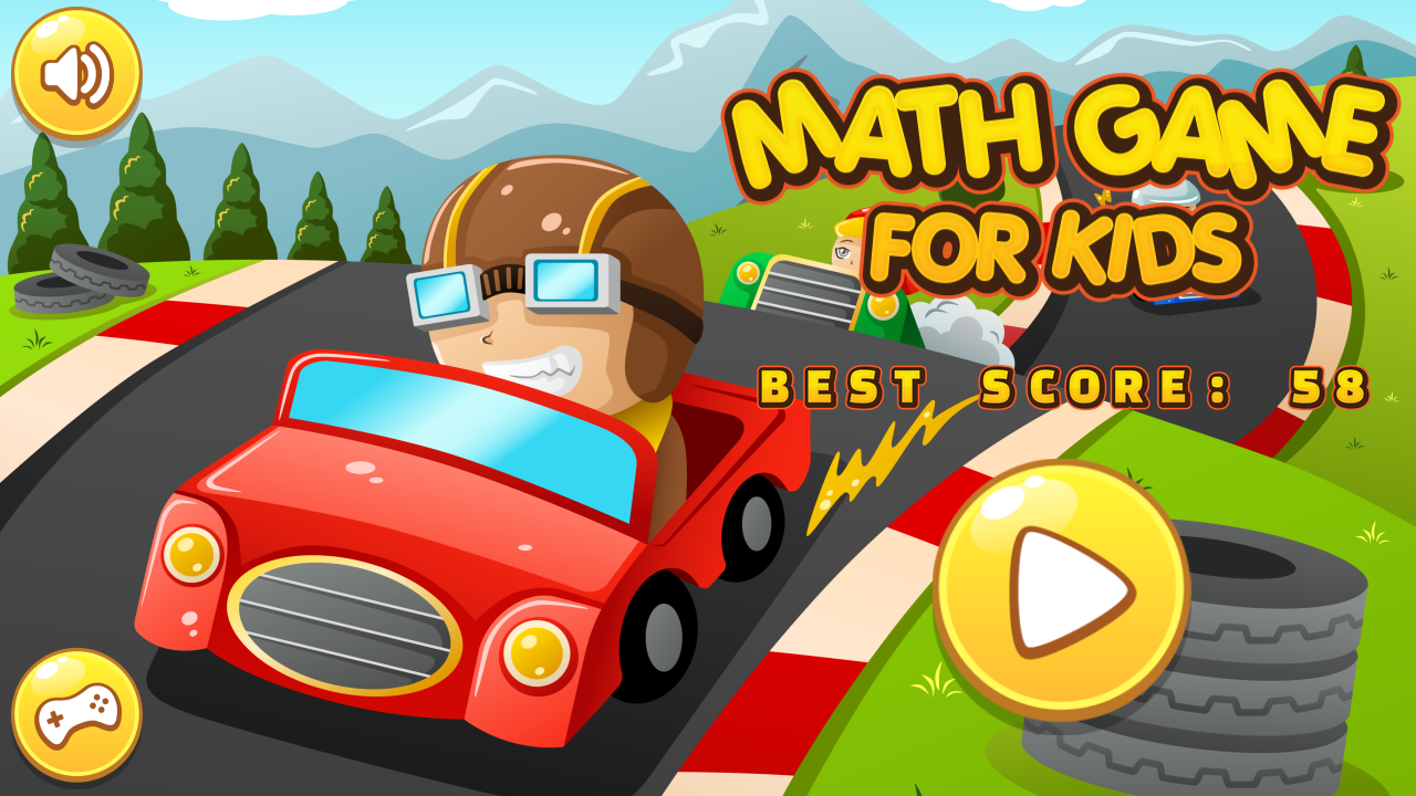 Math Game For Kids - HTML5 Game + Android + AdMob (Capx) by GamesMasters