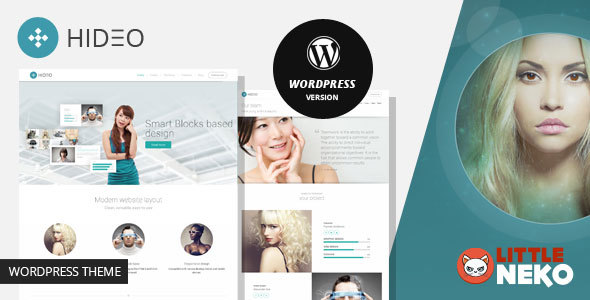 Hideo | Business WordPress theme
