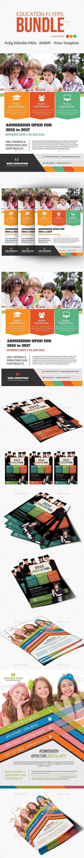 Education Flyers Bundle - Flyers Print Templates