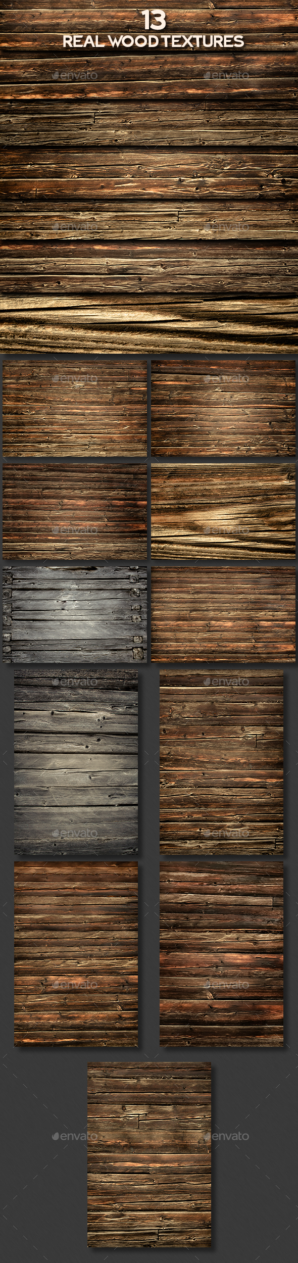 Real Wood Textures - Wood Textures