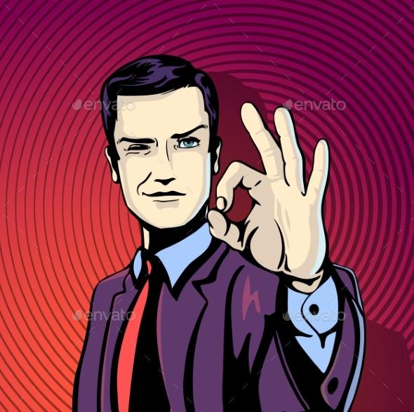 Successful Businessman - Concepts Business