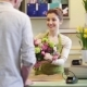 Florist Woman With Flowers And Man At Flower Shop 2 - VideoHive Item for Sale