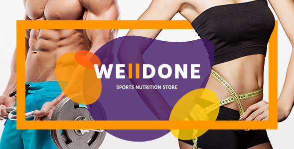 Welldone - Sports & Fitness Nutrition and Supplements Store