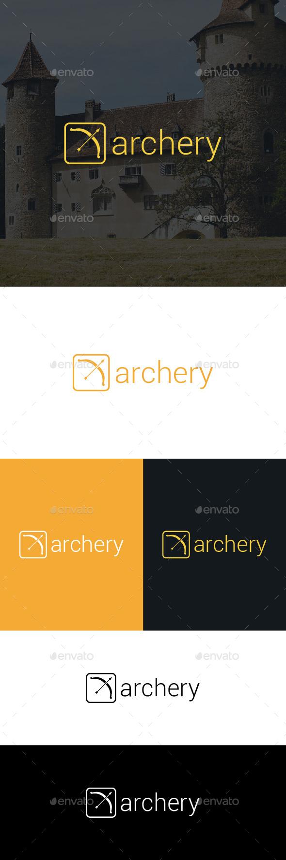 Archery Logo Template - Objects Logo Templates