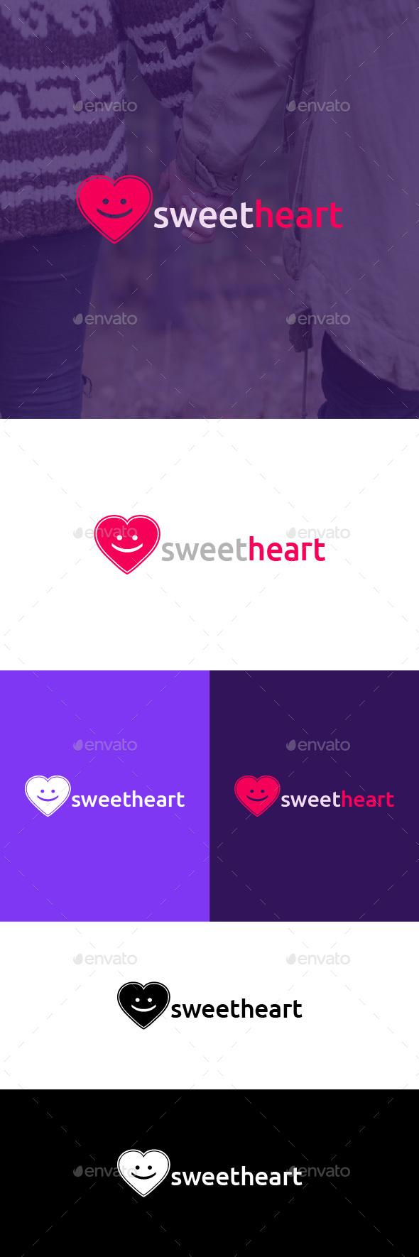 Sweetheart Logo Template - Symbols Logo Templates