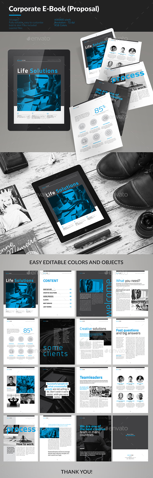 Corporate E-book Template Vol.5 - ePublishing