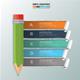 Minimal Pencil infographic Design