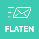 Flaten - Multipurpose Responsive Email Template + Stampready Builder