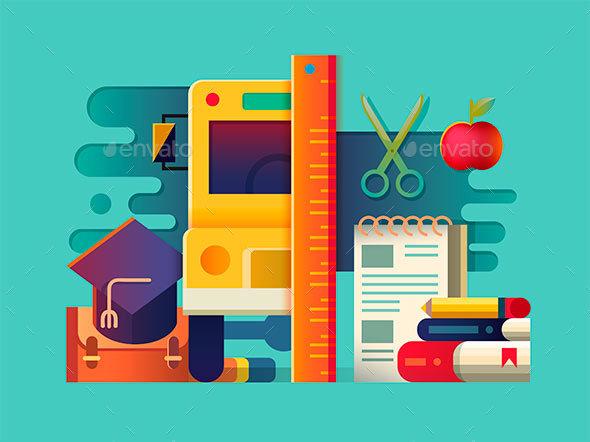 School Concept Item - Miscellaneous Conceptual
