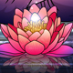 Buddha in Meditation with Lotus Flower - GraphicRiver Item for Sale