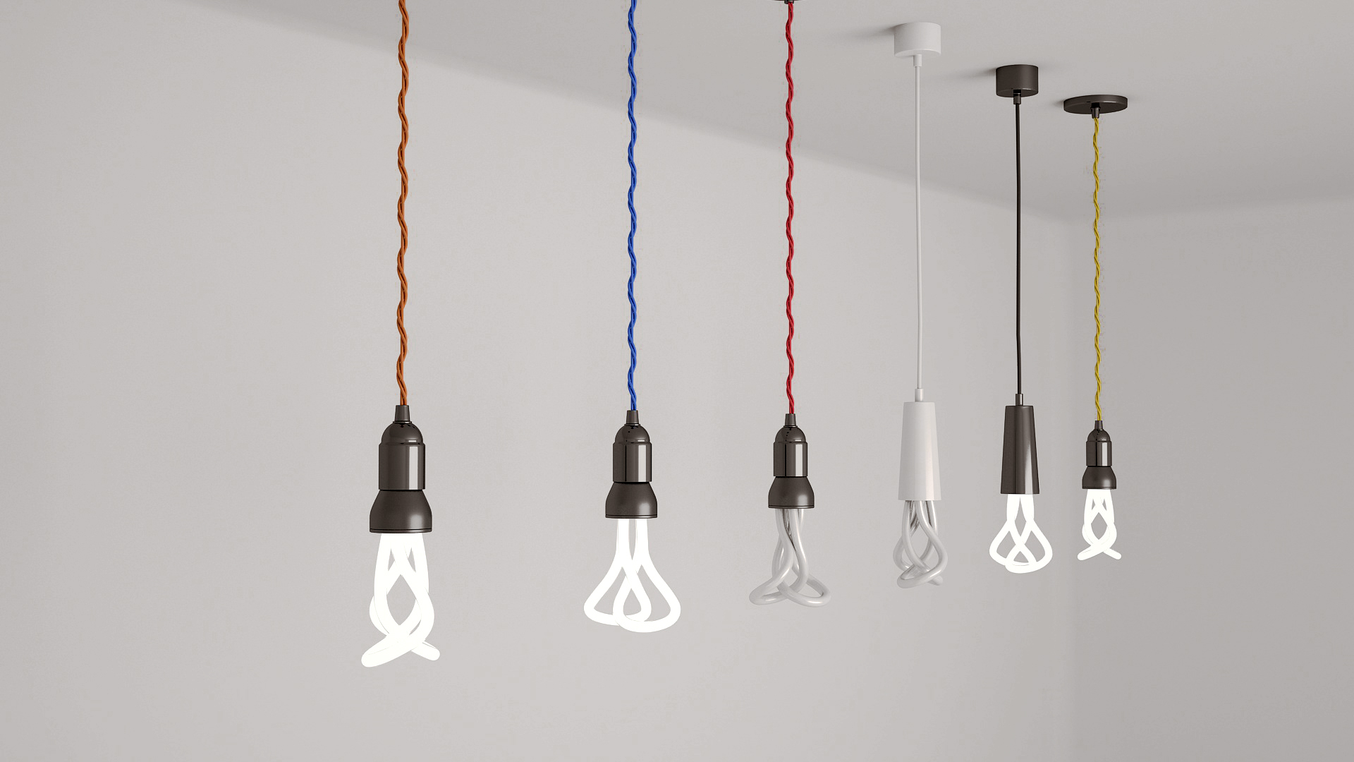 plumen light bulbs by ksenusya 3docean. Black Bedroom Furniture Sets. Home Design Ideas