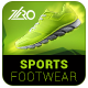 Sports Footwear Ad Banners - GraphicRiver Item for Sale