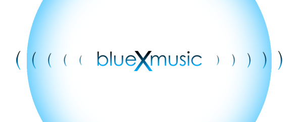 Blue x music audiojungle profile image bigger