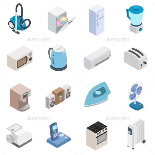 Home Appliances Icons - Miscellaneous Icons