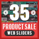 Product Sale Sliders Bundle - 10 Sets - 35 Designs - GraphicRiver Item for Sale