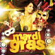 Mardi Gras Bash Flyer Vol_1 - GraphicRiver Item for Sale