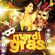 Mardi Gras Bash Flyer Vol_1 - GraphicRiver Item for Sale