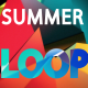 Summer Triangle Dance Vj Loop Background - VideoHive Item for Sale