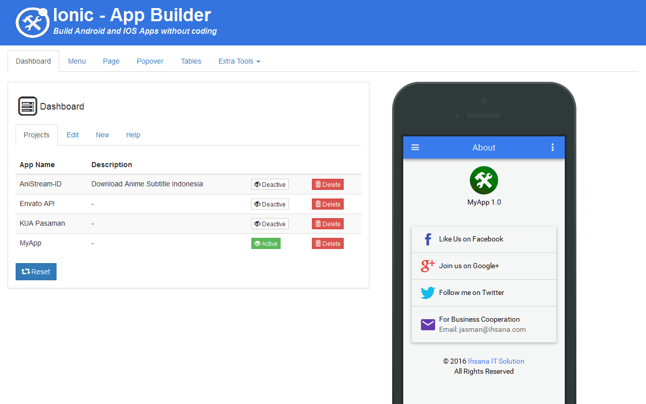 Image Result For Codecanyon Mobile App Builder