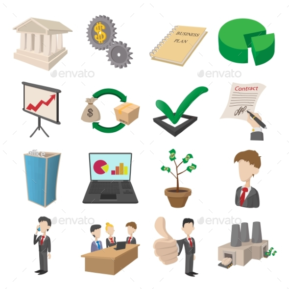 Business Icons Set - Miscellaneous Icons