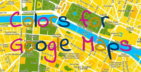 Colors for Google Maps - CodeCanyon Item for Sale