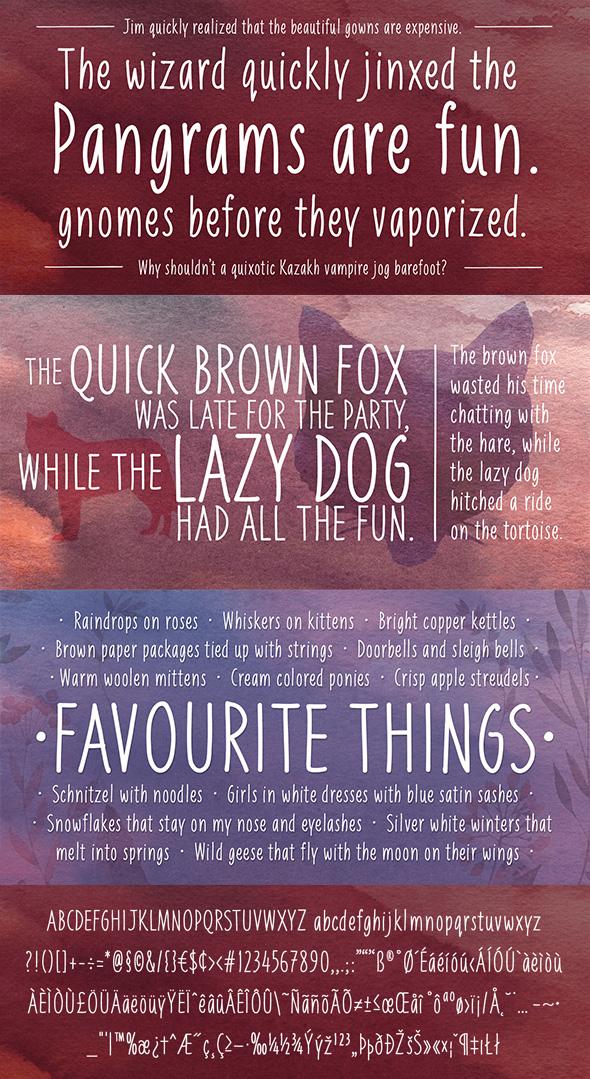 Liniga Typeface - Handwriting Fonts