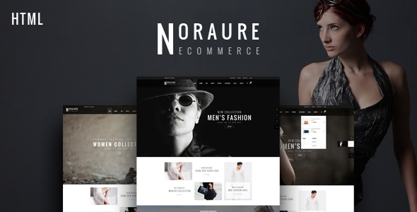 Noraure - Mega Shop Bootstrap Template - Fashion Retail