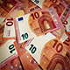 Ten Euro Banknotes Rotating - VideoHive Item for Sale