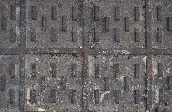Metal Grid - Metal Textures