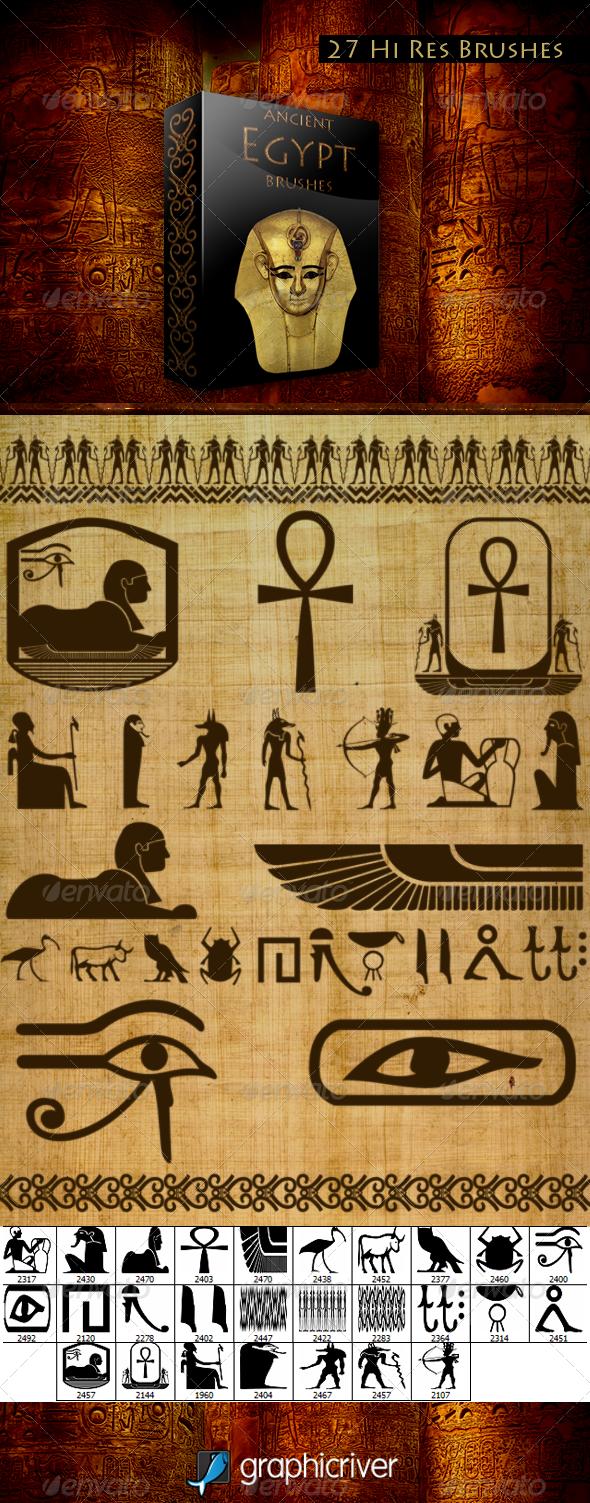 Ancient Egypt Brushes - Brushes Photoshop