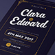 Simple Wedding Invitation & RSVP - GraphicRiver Item for Sale