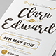 Simple Wedding & Birthday Invitation - GraphicRiver Item for Sale