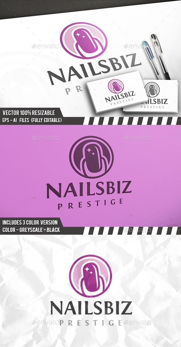 Nails Logo - Humans Logo Templates