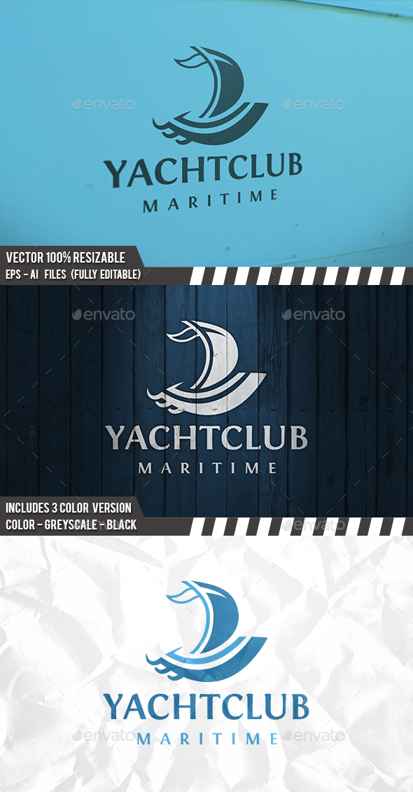 Sail Logo - Objects Logo Templates