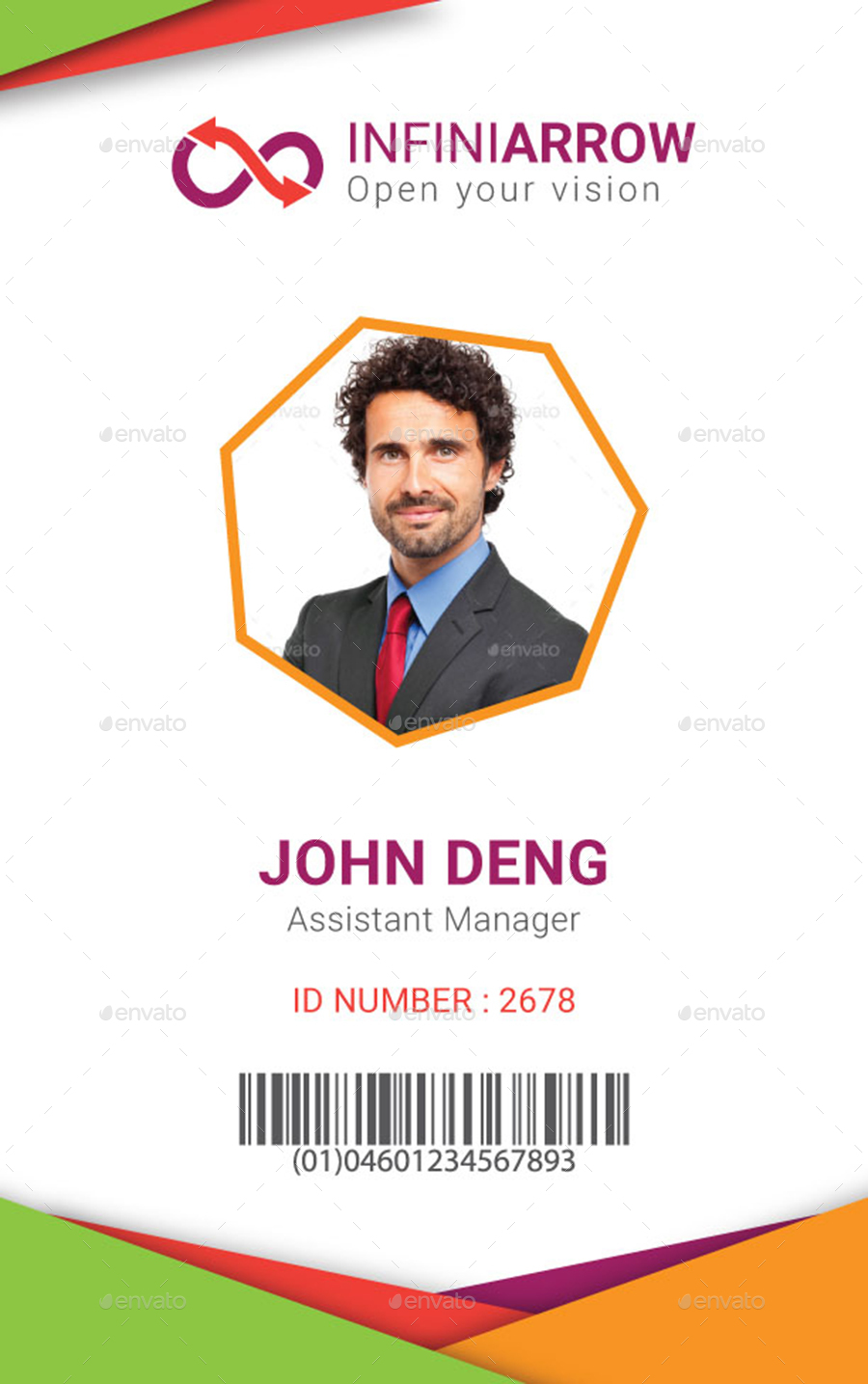 Multipurpose Business ID Card Template by dotnpix