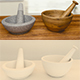 mortar/ pestle/ pounder - 3DOcean Item for Sale