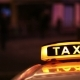 Illuminated Sighn Of Taxi Cab  - VideoHive Item for Sale