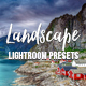 PRO Landscape and Travel Lightroom Presets  - GraphicRiver Item for Sale