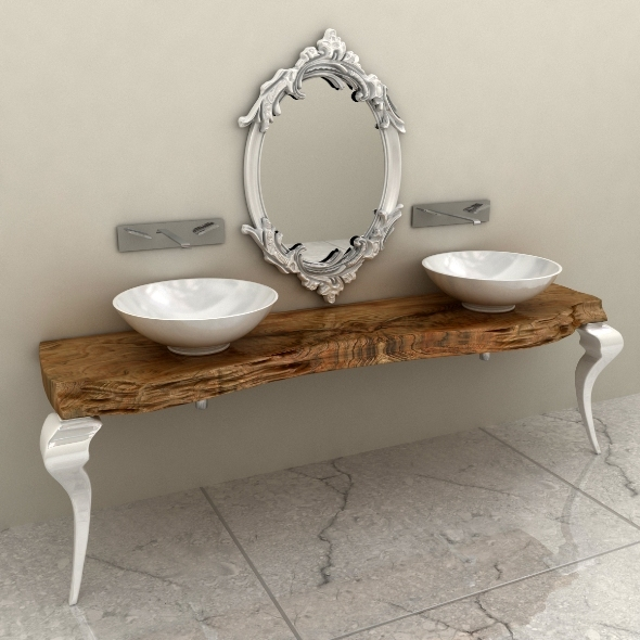 Bizzotto Consolle Bagno 544 - 3DOcean Item for Sale