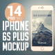14 iPhone 6s Plus Photo Mockup - GraphicRiver Item for Sale