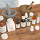 Medicine Bottles (All) - 3DOcean Item for Sale
