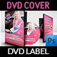 Food Cook DVD Cover and Label Template - GraphicRiver Item for Sale